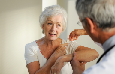Shoulder injuries need Physical Therapy care